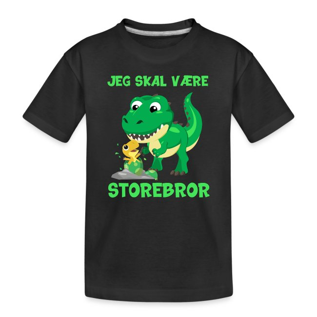 Jeg skal være storebror dinosaur gave dino