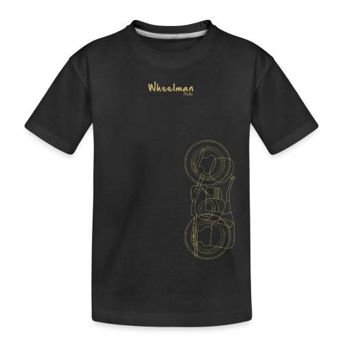 wheelman - Maglietta ecologica premium per ragazzi