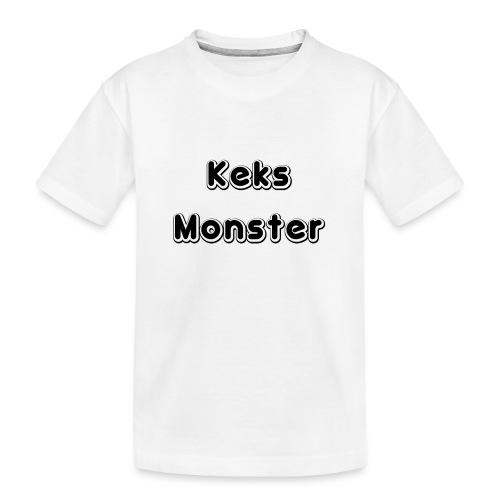 Keks Monster - Teenager Premium Bio T-Shirt