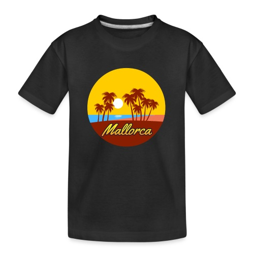 Mallorca - Als Geschenk oder Geschenkidee - Teenager Premium Bio T-Shirt