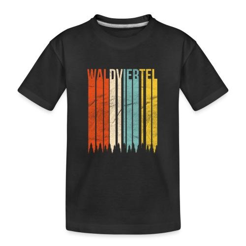 Waldviertel Retro - Teenager Premium Bio T-Shirt