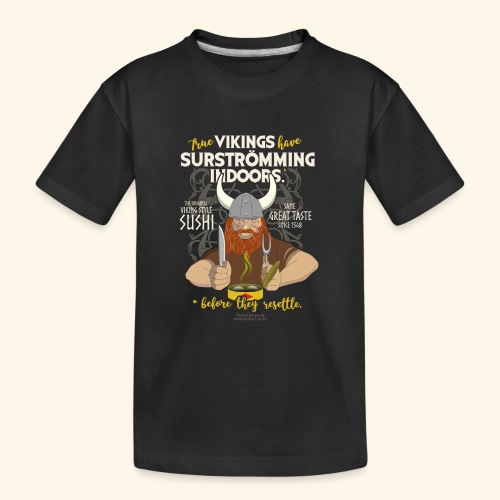 Indoors | Surströmming T-Shirts - Teenager Premium Bio T-Shirt