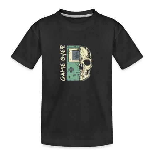 Game over Gaming Spruch Outfit für Zocker Gamer - Teenager Premium Bio T-Shirt