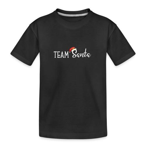 Team Santa Outfit für Familien Weihnachtsoutfit - Teenager Premium Bio T-Shirt
