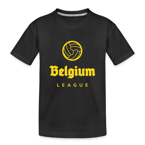 Belgium football league belgië - belgique - T-shirt bio Premium Ado