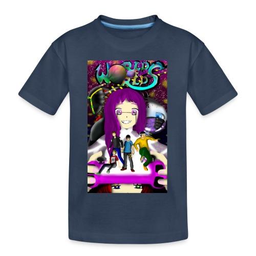 World Of Worlds THE AWAKENING - Camiseta orgánica premium adolescente