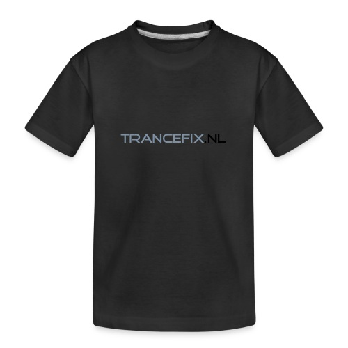 trancefix text - Teenager Premium Organic T-Shirt