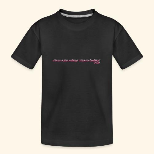 Gay wedding - Ekologiczna koszulka młodzieżowa Premium