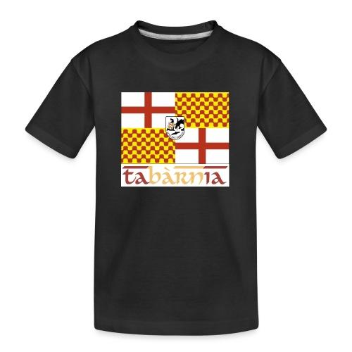 Bandera Tabarnia letra simran - Camiseta orgánica premium adolescente