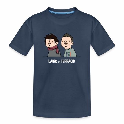 Laink et Terracid old - T-shirt bio Premium Ado