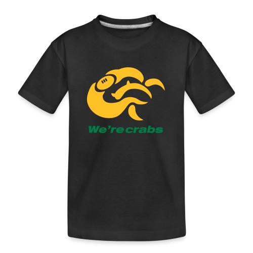 Crazycrab_Australia - Maglietta ecologica premium per ragazzi