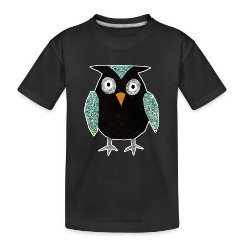 Collage mosaic owl - Teenager Premium Organic T-Shirt