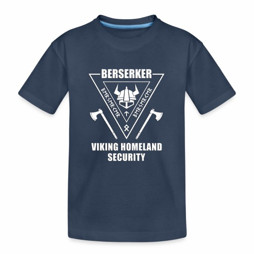 berserker viking homeland security - Camiseta orgánica premium adolescente