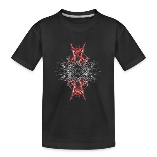 rotes metall - Teenager Premium Bio T-Shirt