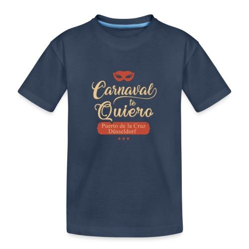 Carnaval te quiero - Teenager Premium Bio T-Shirt