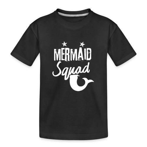 Meerjungfrau-Trupp-Kader - Teenager Premium Bio T-Shirt