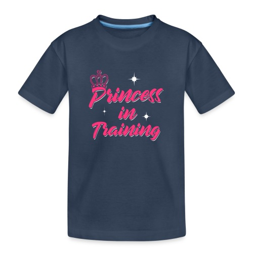 Princess In Training - Teenager Premium Bio T-Shirt