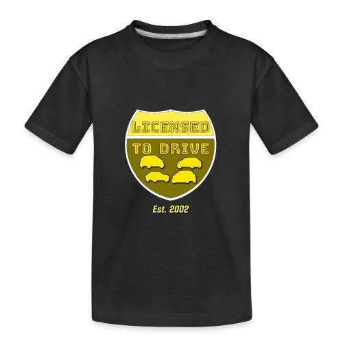 licensed to drive 2002 - T-shirt bio Premium Ado