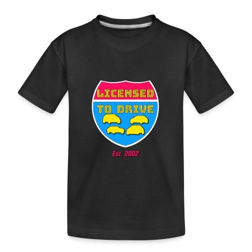 licensed to drive t-shirt 2002 - T-shirt bio Premium Ado