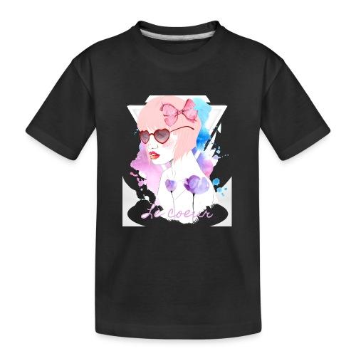 Le coeur - T-shirt bio Premium Ado