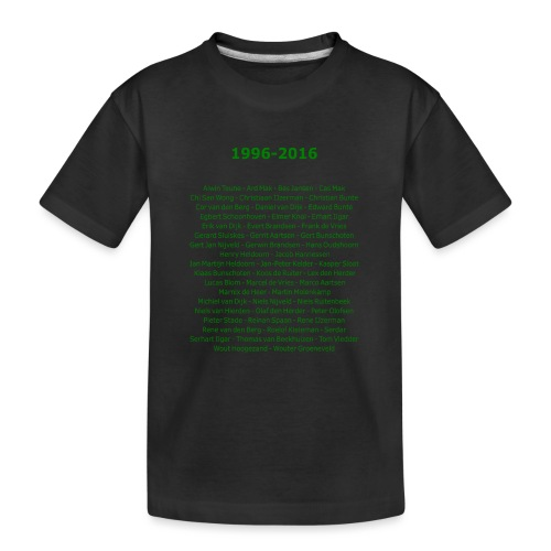 tekening4 - Teenager premium biologisch T-shirt