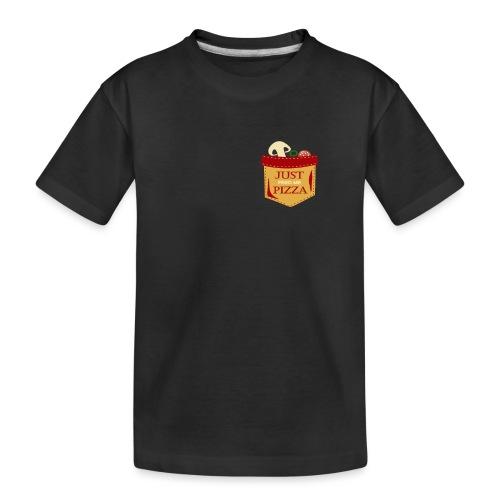 Dammi solo la pizza - Maglietta ecologica premium per ragazzi