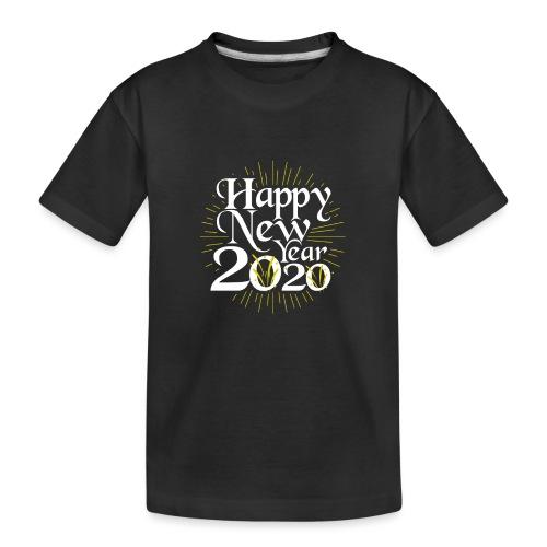 Happy New Year 2020 men - Teenager Premium Bio T-Shirt