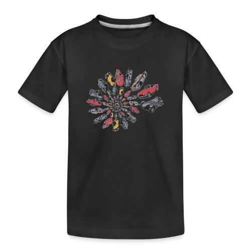 Car Swirl - Teenager Premium Organic T-Shirt