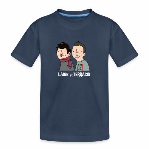 Laink et Terracid - T-shirt bio Premium Ado