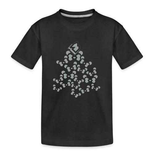 PANDA SHIRT V2 - Teenager premium biologisch T-shirt