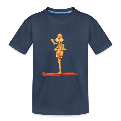 Yoga - Rabbit - Teenager Premium Bio T-Shirt