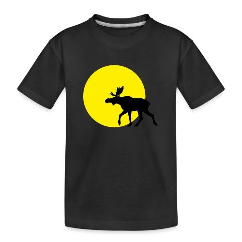 elgisolnedgang1 - Premium økologisk T-skjorte for tenåringer