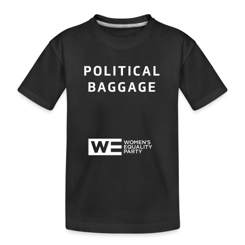 Political Baggage - Teenager Premium Organic T-Shirt