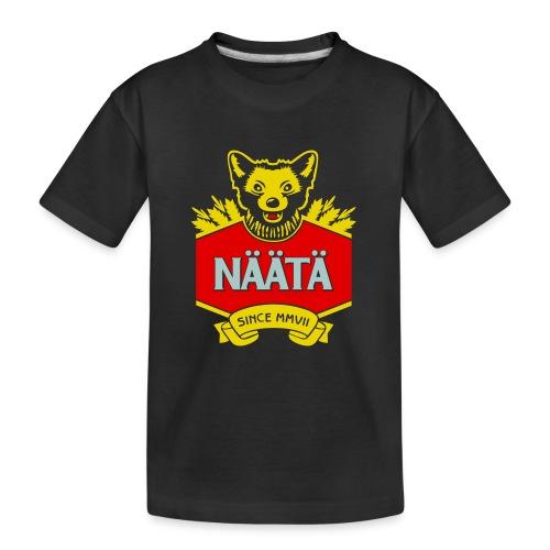 Näätä - Teinien premium luomu-t-paita