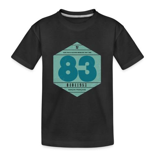 Vignette automobile 1983 - T-shirt bio Premium Ado