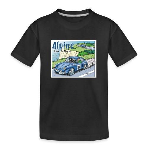 Polete en Alpine 106 - T-shirt bio Premium Ado