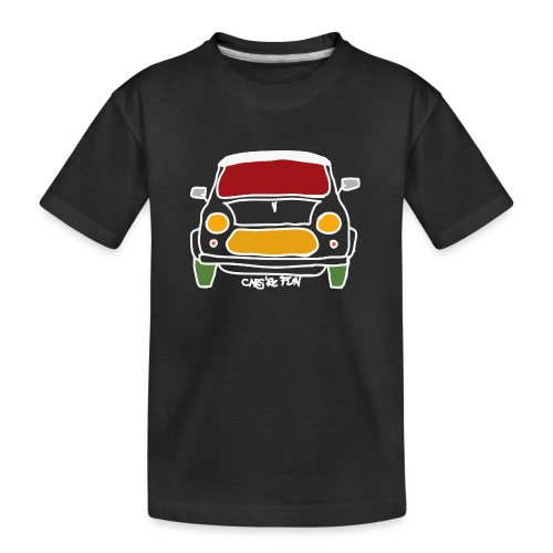 Voiture ancienne anglaise - T-shirt bio Premium Ado