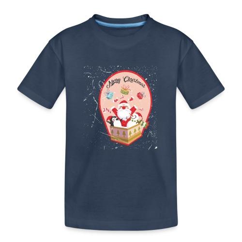 Merry Chrismas1 - T-shirt bio Premium Ado