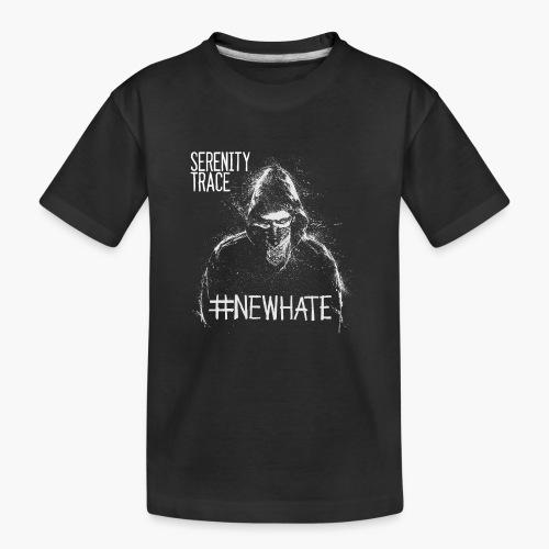#NewHate Male - Premium økologisk T-skjorte for tenåringer