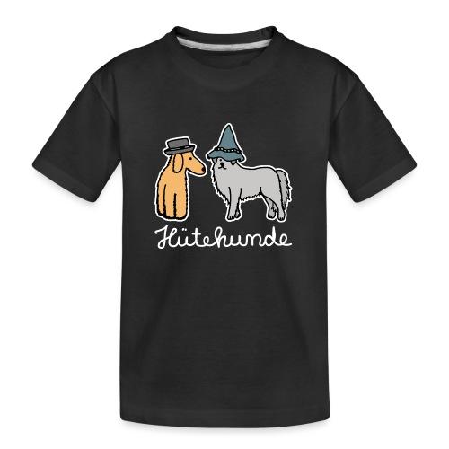 Hütehunde Hunde mit Hut Huetehund - Teenager Premium Bio T-Shirt