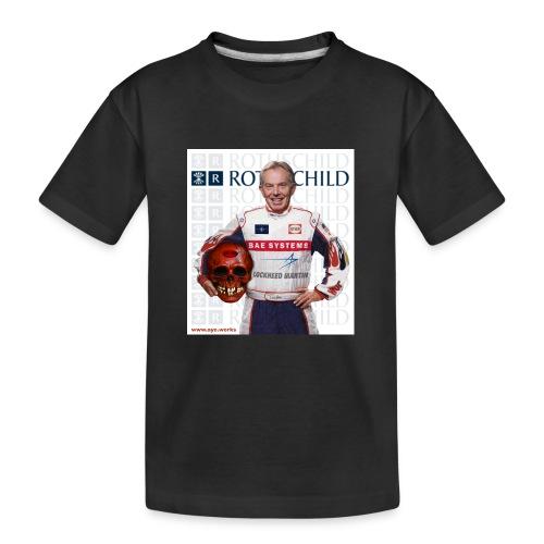 Inhuman Race - Teenager Premium Organic T-Shirt