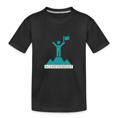 Typo Achiement by CloudMonde - Teenager Premium Organic T-Shirt