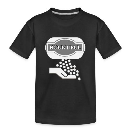 Bontiul gray white - Teenager Premium Organic T-Shirt