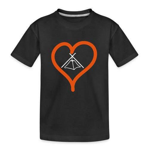 Herz Kothe - Teenager Premium Bio T-Shirt