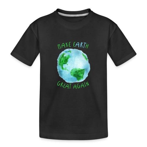 EARTH - Camiseta orgánica premium adolescente
