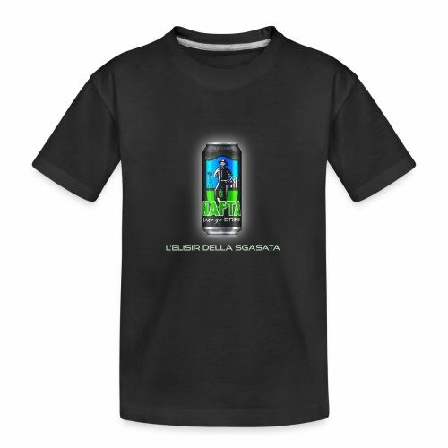 Nafta Energy Drink - Maglietta ecologica premium per ragazzi