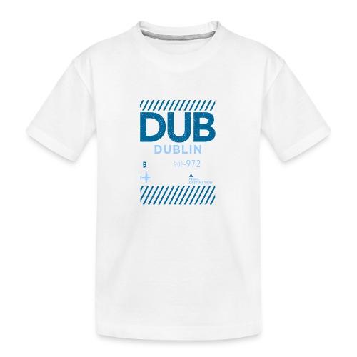 Dublin Ireland Travel - Teenager Premium Organic T-Shirt