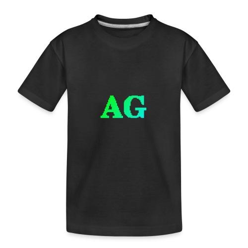 ATG Games logo - Teinien premium luomu-t-paita