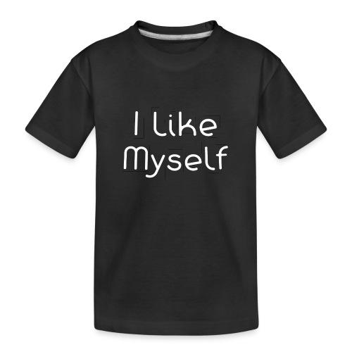 I Like Myself - Maglietta ecologica premium per ragazzi