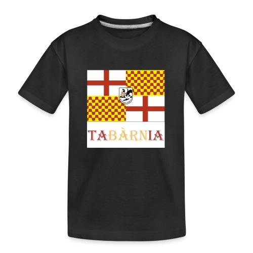 Bandera Tabarnia con escudo y nombre - Camiseta orgánica premium adolescente